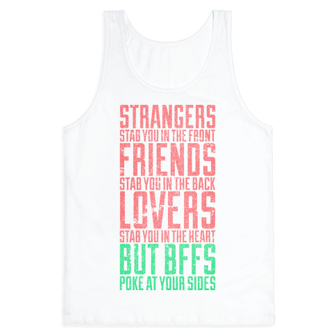 Poke At Your Sides Tank Top