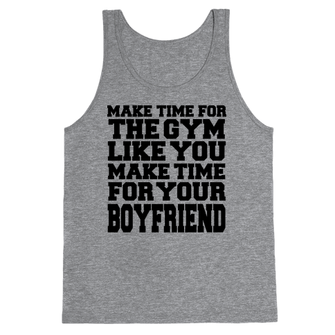 Make Time for the Gym Tank Top
