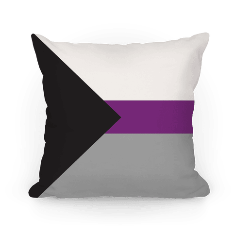 Demisexual Pride Flag Pillow