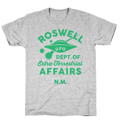 Roswell Department Of Extra-Terrestrial Affairs Mens T-Shirt