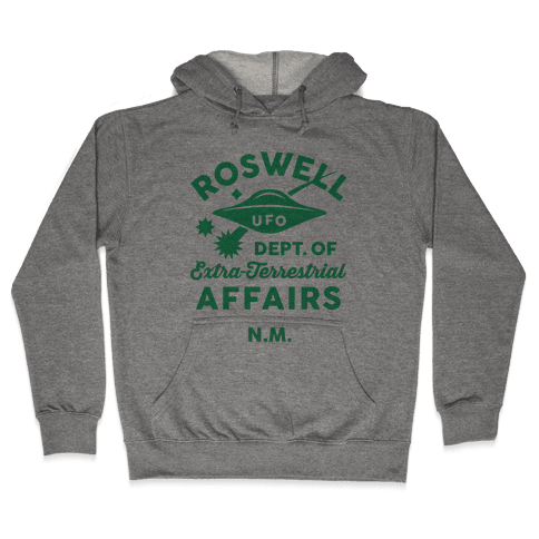 Roswell Department Of Extra-Terrestrial Affairs Hooded Sweatshirt