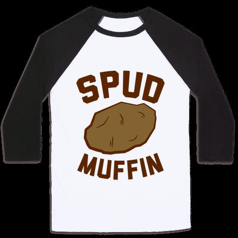 Spud Muffin Baseball Tee