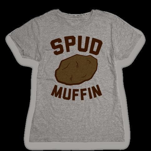Spud Muffin Womens T-Shirt