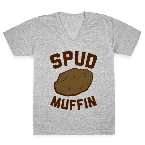Spud Muffin V-Neck Tee Shirt