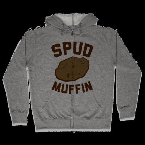 Spud Muffin Zip Hoodie