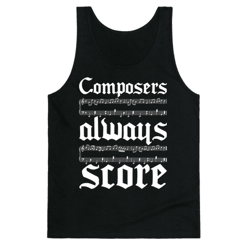 Composers Tank Top