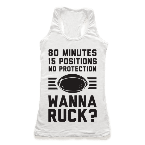 80 Minutes 15 Positions No Protection Wanna Ruck?