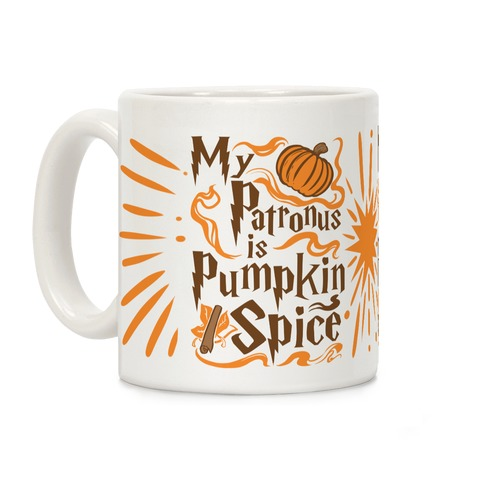 My Patronus is Pumpkin Spice Coffee Mug