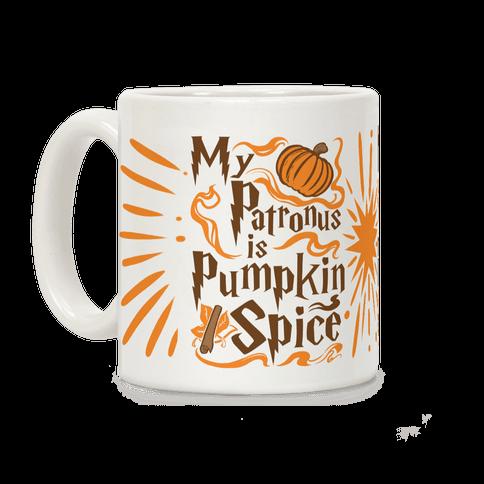 My Patronus is Pumpkin Spice Coffee Mug
