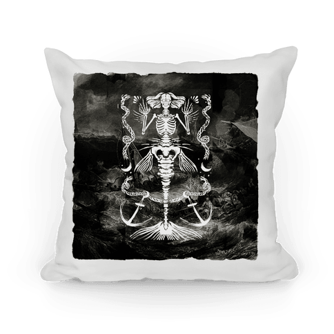 Dead Mermaid Pillow Pillow