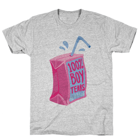 100% Boy Tears Mens T-Shirt