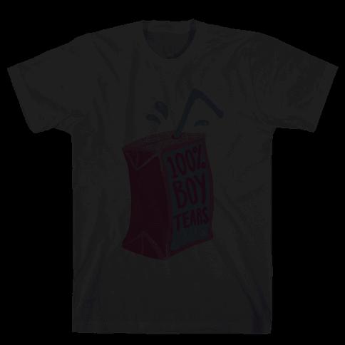 100% Boy Tears Mens T-Shirt