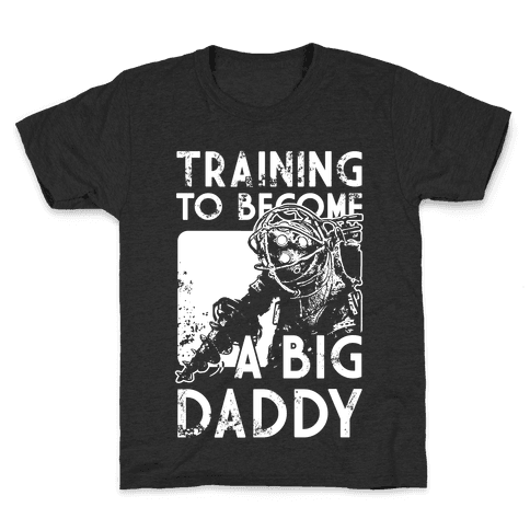 Training To Become A Big Daddy Kids T-Shirt