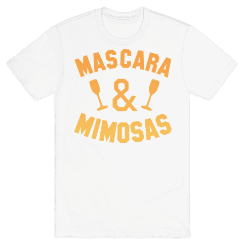 Mascara & Mimosas Mens T-Shirt
