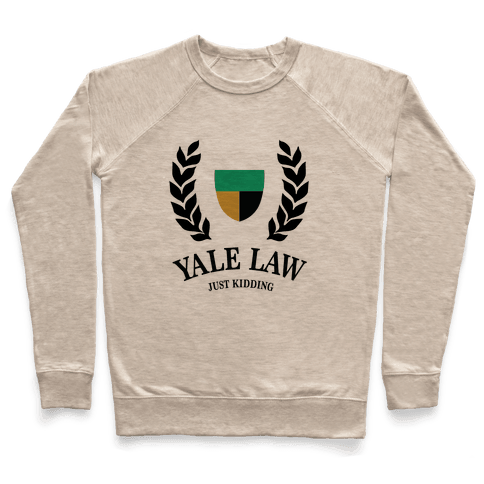 Yale Law (Just Kidding) Pullover