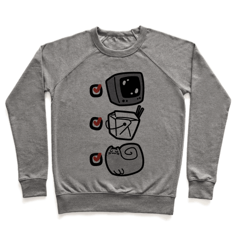 Tv Takeout Cat Pullover