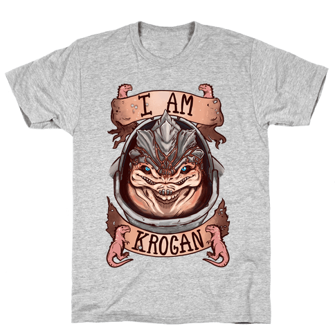 I am KROGAN! (Grunt) Mens T-Shirt