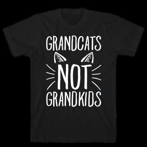 Grandcats Not Grandkids Mens T-Shirt