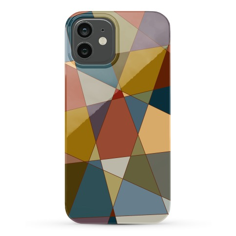 Geometric Mosaic Pattern Phone Case