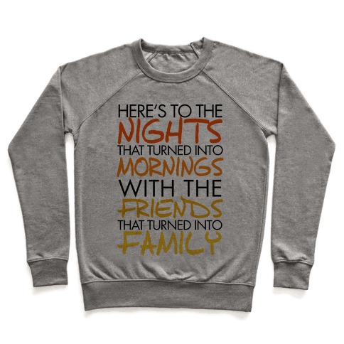 Here's to the Nights Pullover