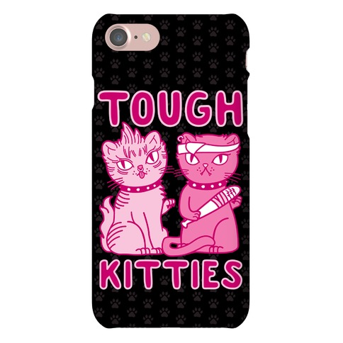 Tough Kitties Phone Case