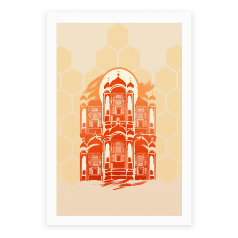 Hawa Mahal Palace Of The Winds Poster
