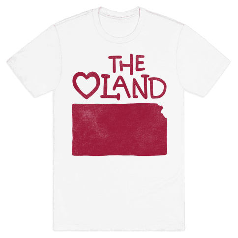 The Heartland (Kansas) Mens T-Shirt