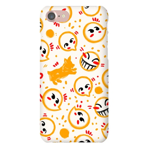 Corgi and Hacker Pattern Phone Case