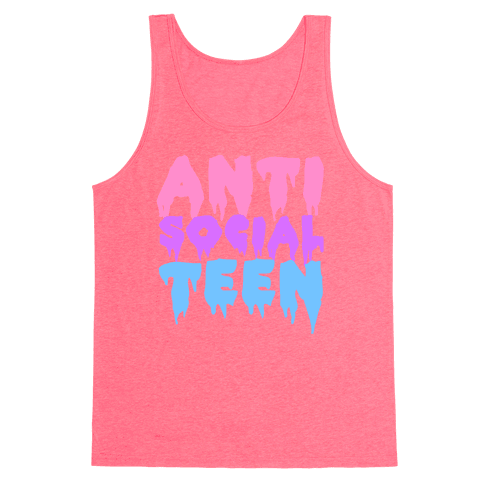 Anti Social Teen Tank Top