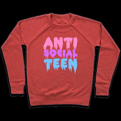 Anti Social Teen Pullover