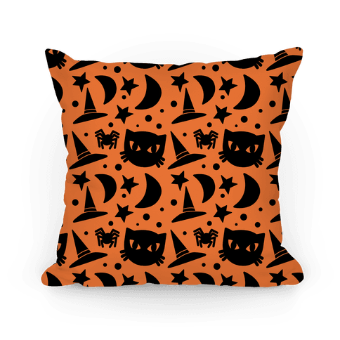 Witchy Halloween Pattern