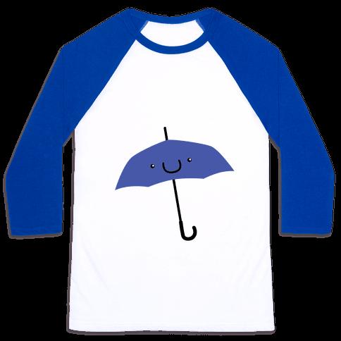 Blue Umbrella Baseball Tee