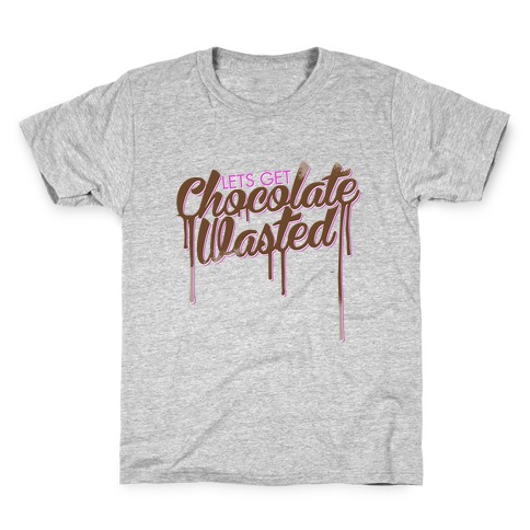 Chocolate Wasted Kids T-Shirt