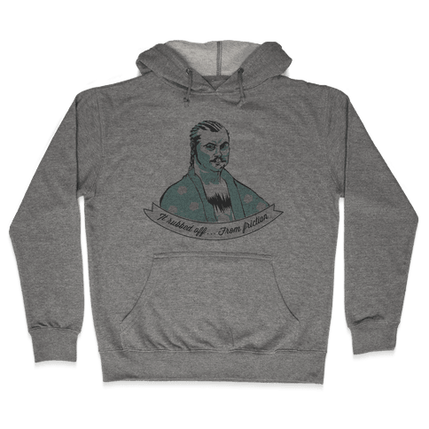 Ron Swanson: It Rubbed Off Hooded Sweatshirt