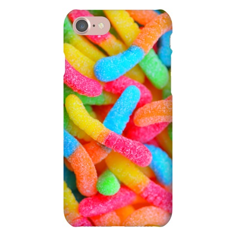 Sour Gummy Worms Phone Case