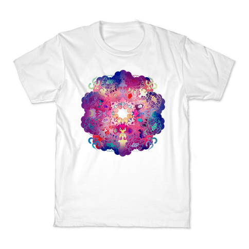 Colorful Yoga Tee Kids T-Shirt