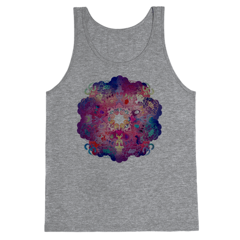 Colorful Yoga Tee Tank Top