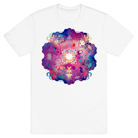 Colorful Yoga Tee Mens T-Shirt