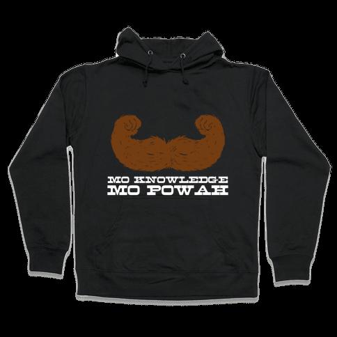Mo Knowledge (dark) Hooded Sweatshirt