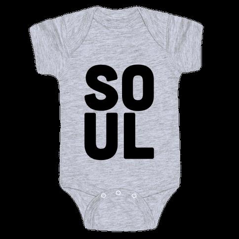 Soul Mate (Soul) Baby Onesy