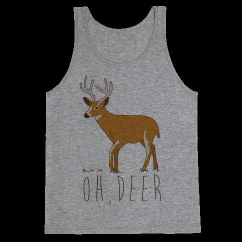 Oh Deer Tank Top