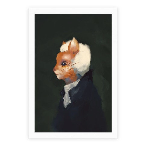 The First Americat Purresident Poster