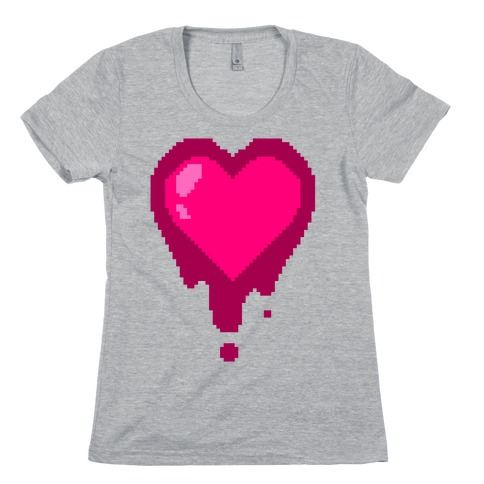 Bleeding Heart Womens T-Shirt