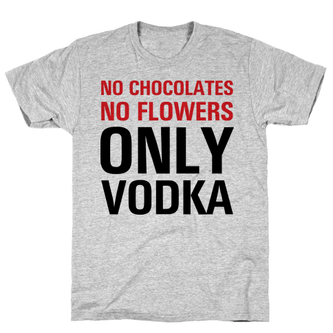 Only Vodka Mens T-Shirt