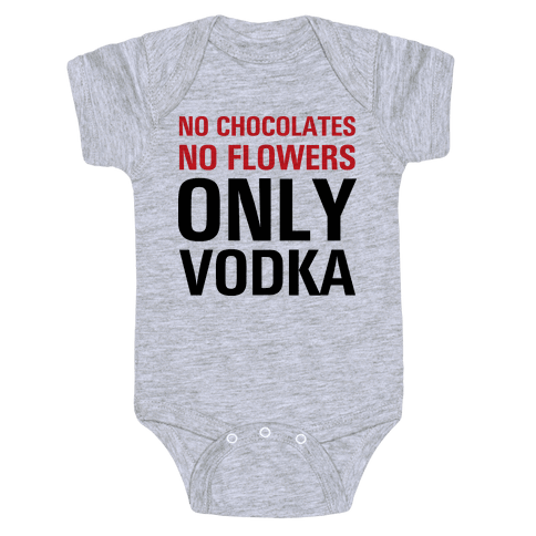 Only Vodka Baby Onesy