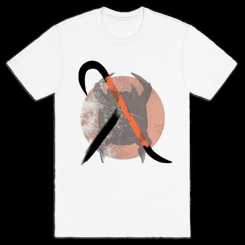 Half Life Crowbar Logo Mens T-Shirt