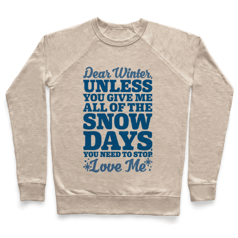 Snow Days Pullover