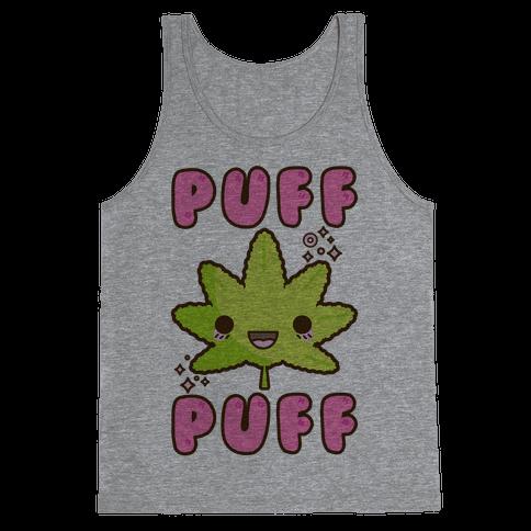 Puff Puff The Kawaii Pot Leaf Tank Top