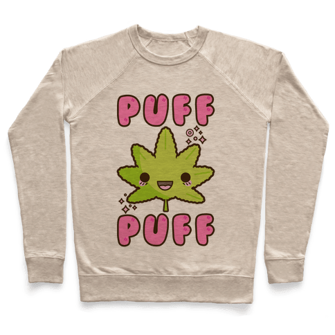 Puff Puff The Kawaii Pot Leaf Pullover
