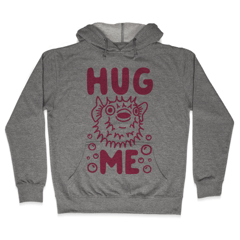 Hug Me Puffer Fish Hooded Sweatshirt
